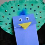 Peacock Puppet Craft + Elmer's Early Learners Prize Pack and $25 Visa Gift Card Giveaway