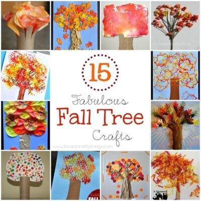 15 Fabulous Fall Tree Crafts