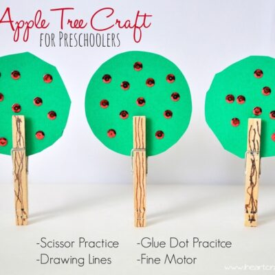 Apple Tree Craft for Preschoolers