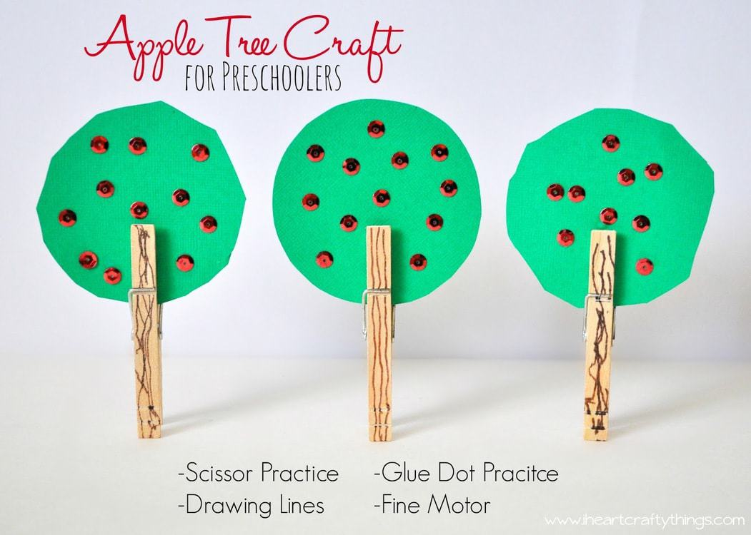 Apple Tree Craft for Preschoolers | I Heart Crafty Things