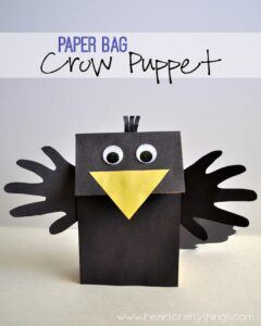 Crow Puppet Craft