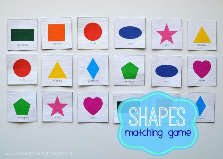 Triangle Ship Craft and Shape Matching Game | I Heart