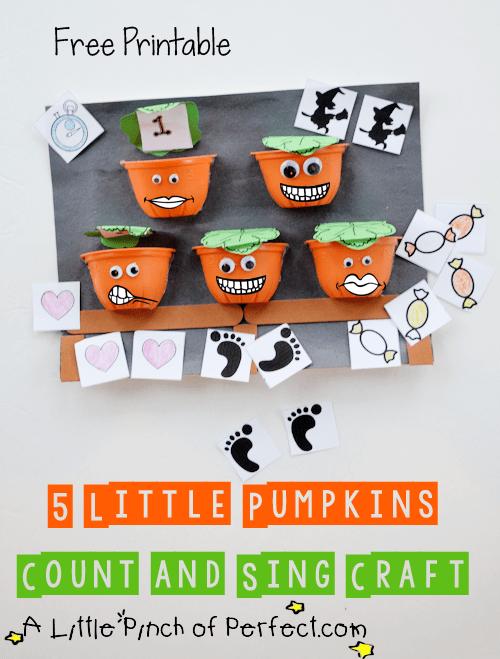 Preschool Halloween Crafts and Learning Activities   I Heart ...