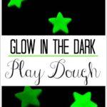 Glow in the Dark Play Dough