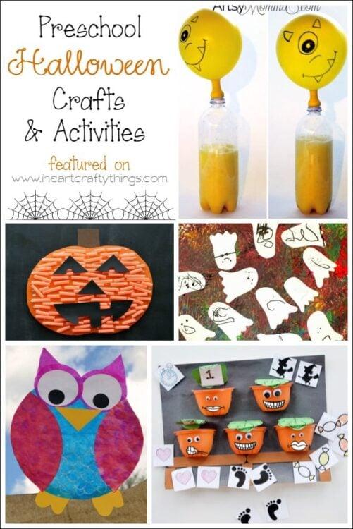Printable preschool Halloween pumpkin coloring pages - 007