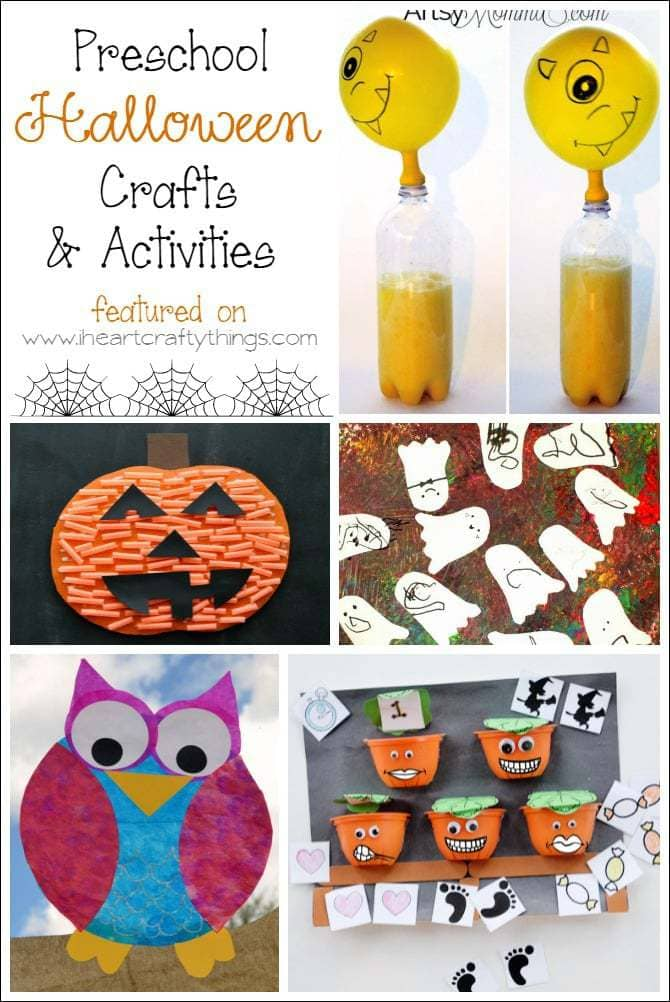 Preschool Halloween Crafts and Learning Activities | I Heart ...