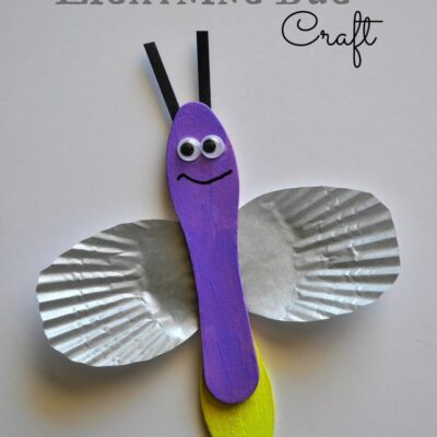 Leo the Lightning Bug Craft