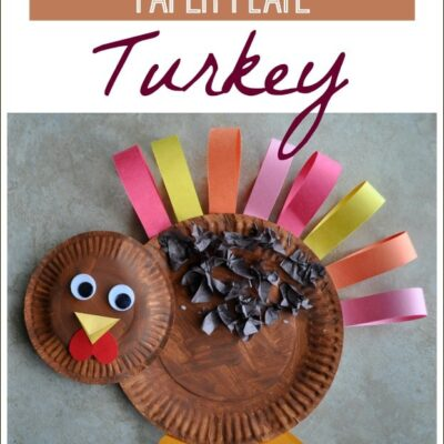Paper Plate Turkey Craft
