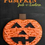 Pumpkin Cutting Practice Jack-o-Lantern Craft