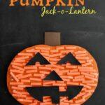 Pumpkin Cutting Practice Jack-o-Lantern Craft