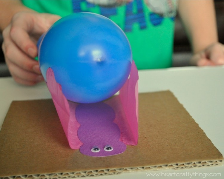 Static Electricity Butterfly Experiment | I Heart Crafty Things
