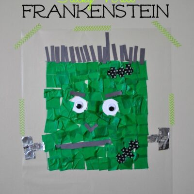 Frankenstein Contact Paper Sticky Wall