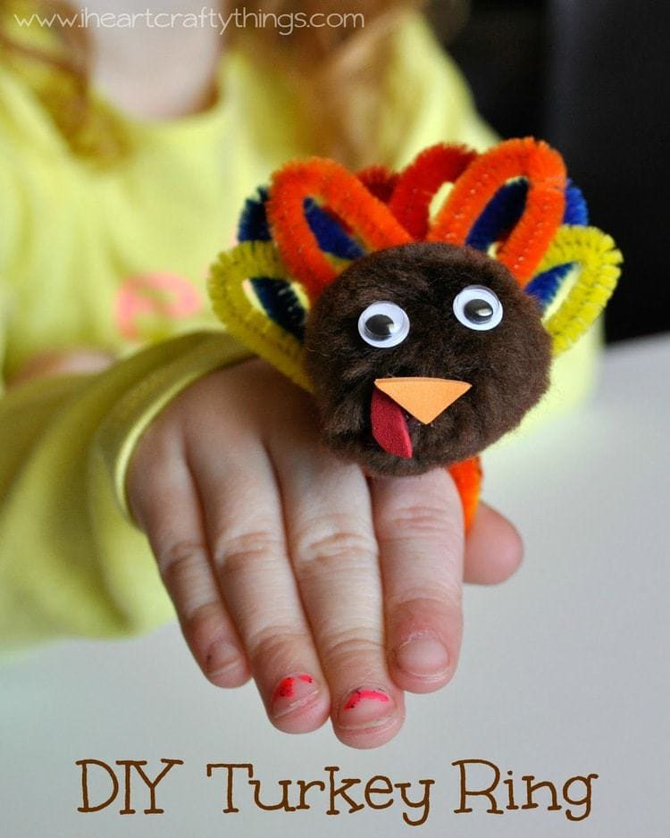 turkey crafts for kids diy turkey ring for i crafty things 5623