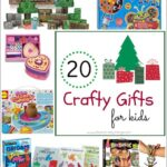 20 Crafty Gifts for Kids {Gift Guide}