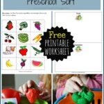 Preschool Fruit and Vegetable Sort
