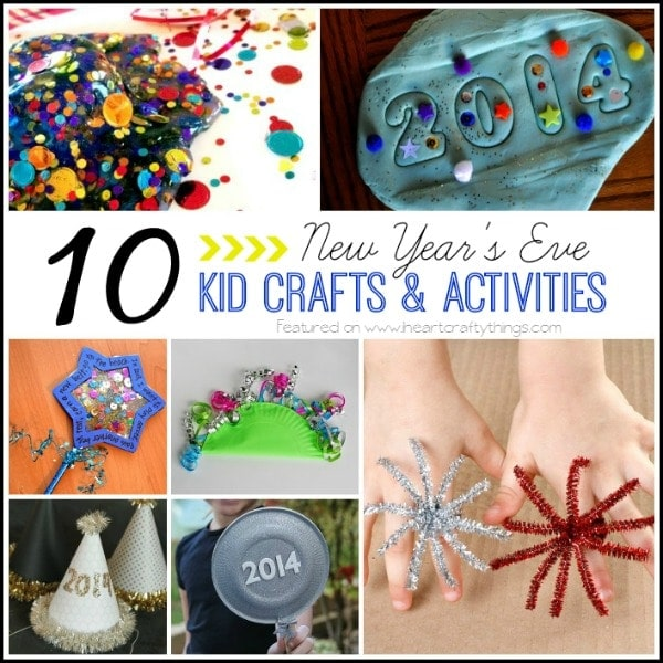 10 New Year S Eve Kid Crafts And Activities