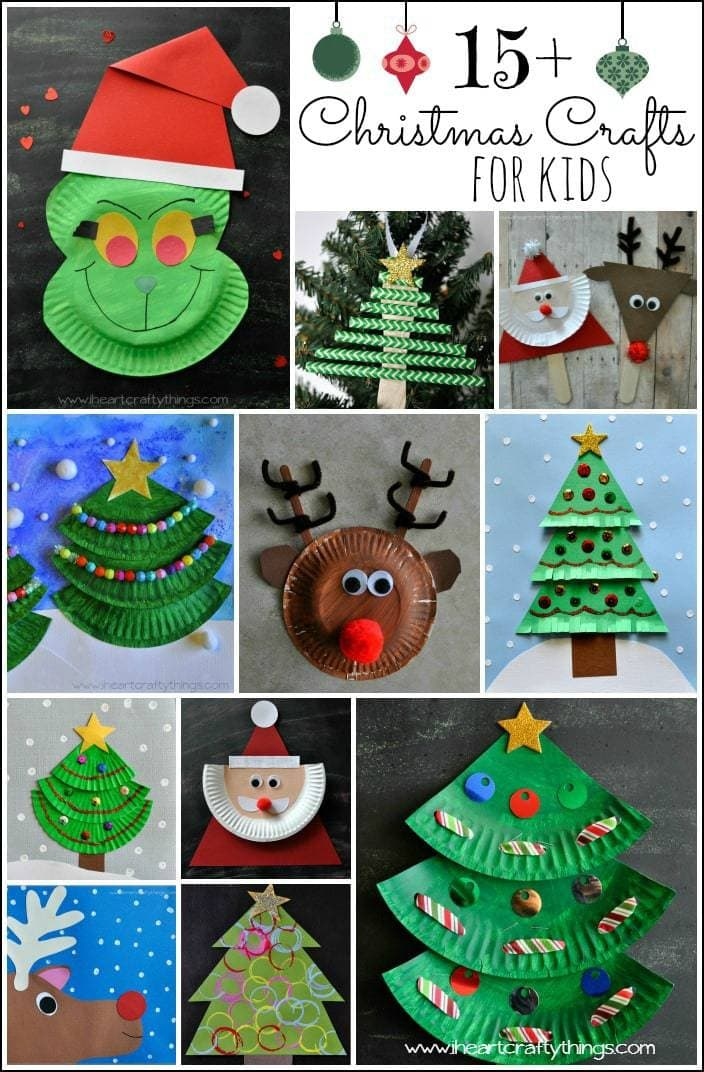 15 christmas crafts for kids i heart crafty things for Christmas crafts to do