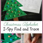 Christmas Alphabet I-Spy Find and Trace