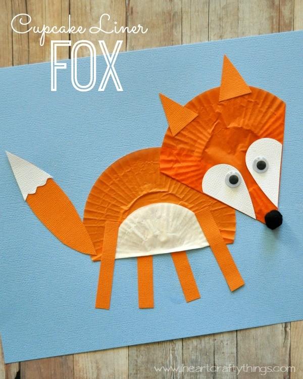 Fox Crafts For Preschoolers