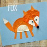 Cupcake Liner Fox Craft