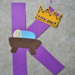 K is for King Alphabet Craft
