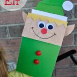 Paper Bag Elf Craft