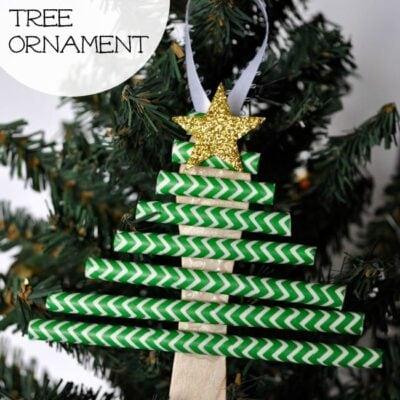 Kids Christmas Tree Ornament
