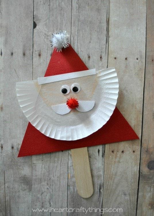 santa claus puppet tutorial
