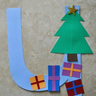 U is for Under the Tree Alphabet Craft