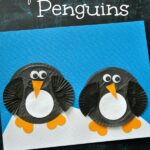 Cupcake Liner Penguin Craft for Kids