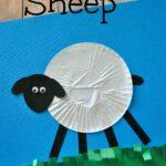 Cupcake Liner Sheep Craft for Kids