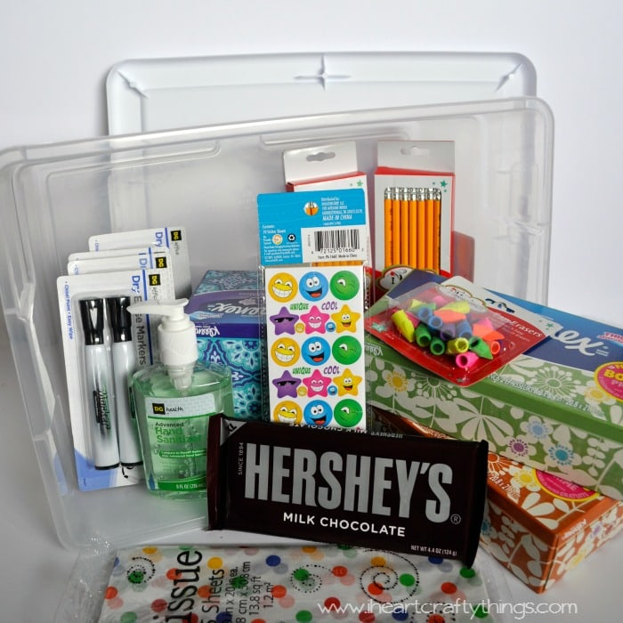 Teacher Appreciation Gift Basket | I Heart Crafty Things