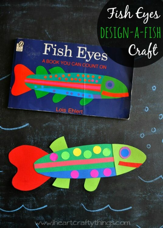 Fish Eyes Design A Fish Craft I Heart Crafty Things