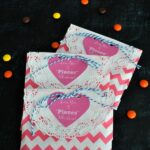 """Love You to Pieces"" Valentine Treat Bags"