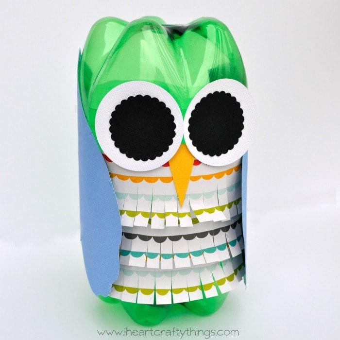 Soda Bottle Owl Craft I