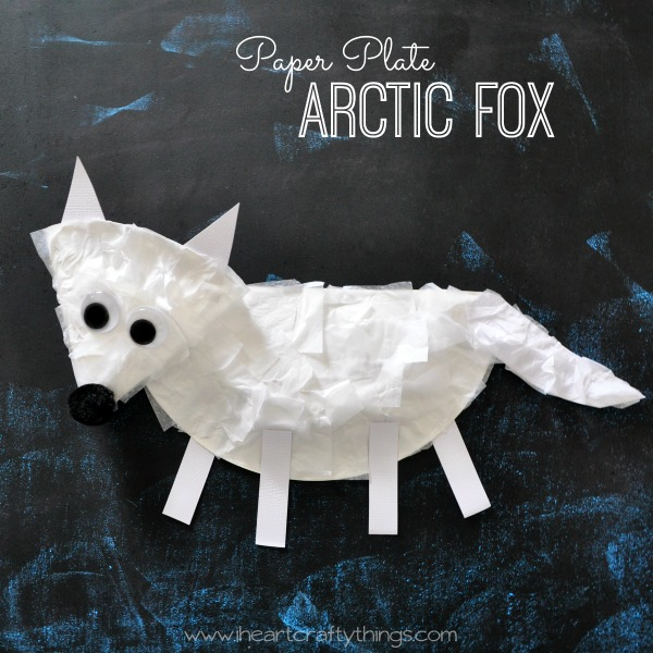 Arctic animals crafts for kids - photo#7