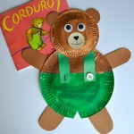 Paper Plate Corduroy Craft