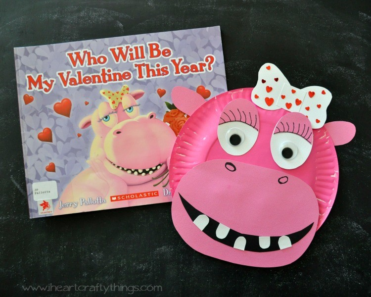 & Plant a Kiss Valentines Kids Craft | I Heart Crafty Things