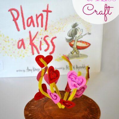 Plant a Kiss Valentines Kids Craft