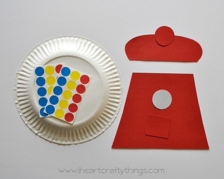 Paper Plate Bubble Gum Machine Craft : things to do with paper plates - Pezcame.Com