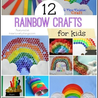 12 Rainbow Crafts for Kids