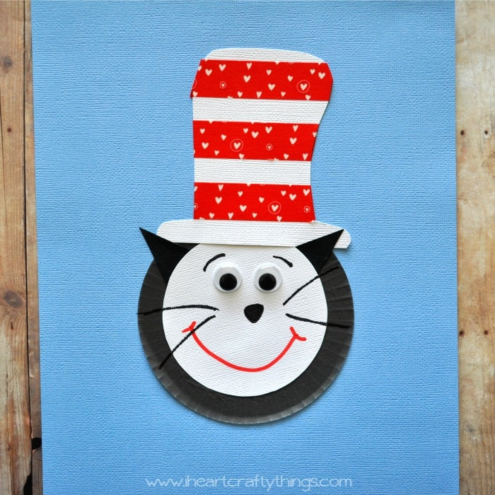 Cupcake Liner Cat In The Hat Craft For Kids I Heart Crafty Things