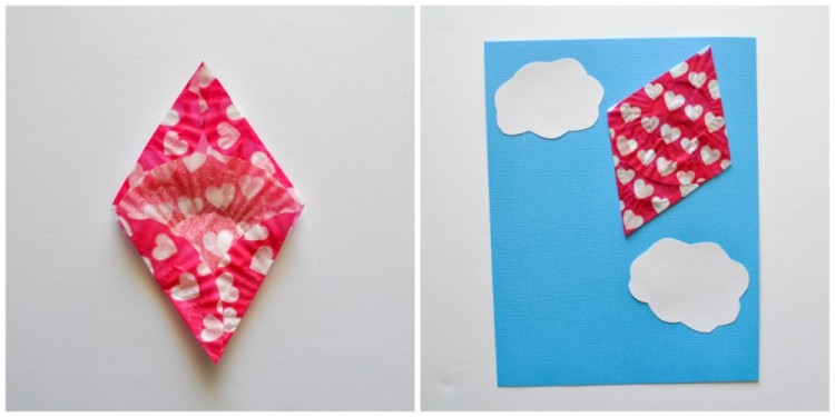 Cupcake Liner Kite Craft For Kids I Heart Crafty Things