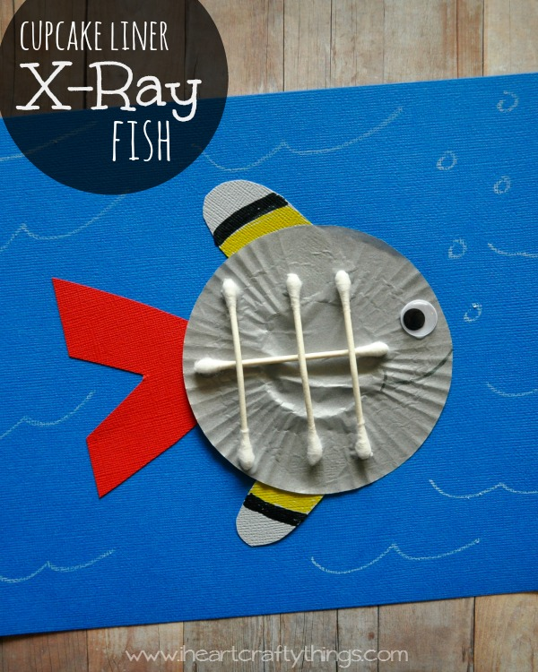 X Is For X Ray Fish Craft
