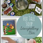 Fox Tale Soup Storytelling Bin