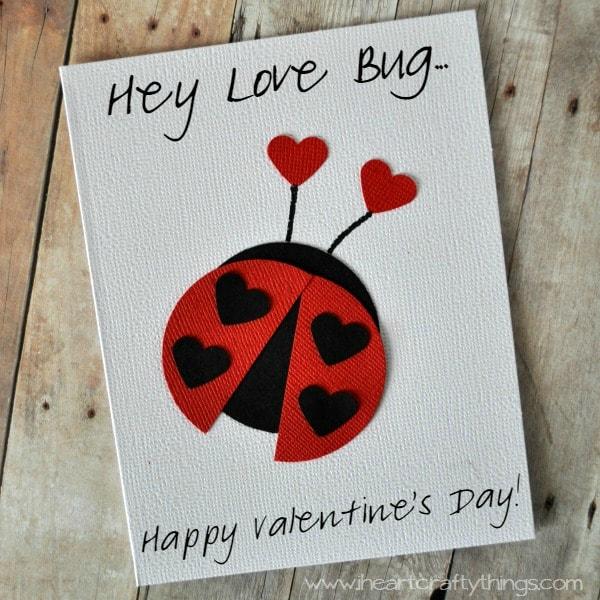 Love Bug Valentine Card – Valentine Love Cards
