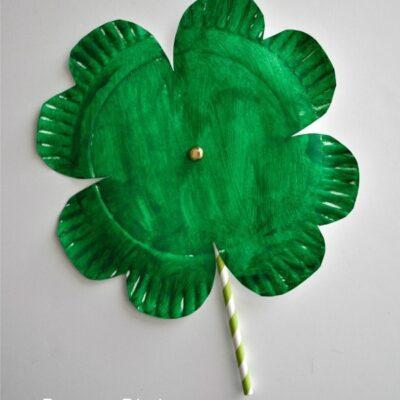 Shamrock Twirler St. Patrick's Day Craft