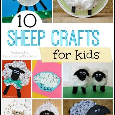 10 Sheep Crafts for Kids