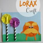 The Lorax Dr Seuss Kids Craft