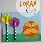 The Lorax Dr Seuss Kids Craft